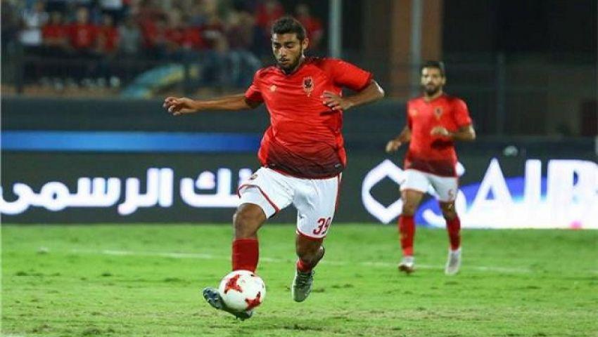 أحمد ياسر ريان لاعب الأهلي يعلن إصابته بفيروس كورونا