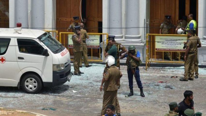 فيديو  تفجيرات سريلانكا.. توقيف 13 شخصًا للاشتباه في تورطهم  بالهجمات