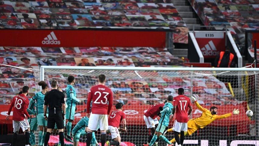 بالضربة القاضية.. يونايتد يقصي ليفربول من كأس الاتحاد الإنجليزي