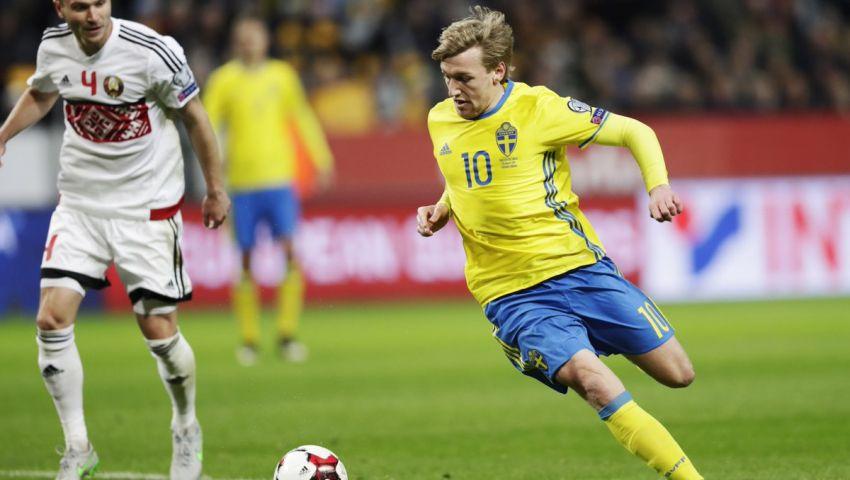 السويد يهزم روسيا البيضاء برباعية نظيفة