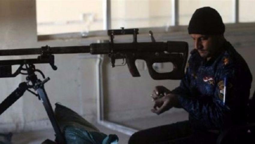 الجيش العراقي ينشر قناصة لمواجهة داعش في الأحياء السكنية