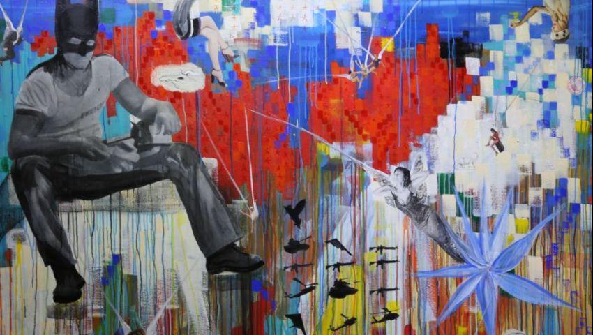 لوحات «خالد حافظ» تعبر الزمن في متحف محمود خليل
