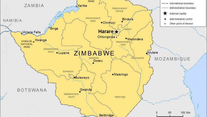 كرونيكل: مصر تتعهد بتقديم يد العون إلى زيمبابوي