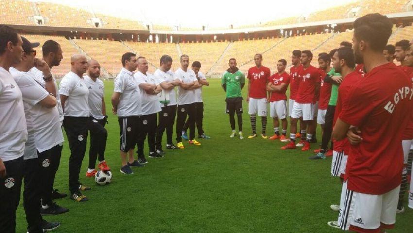 ريان ومنسي يقودان منتخب مصر الاوليمبي في ودية جنوب أفريقيا