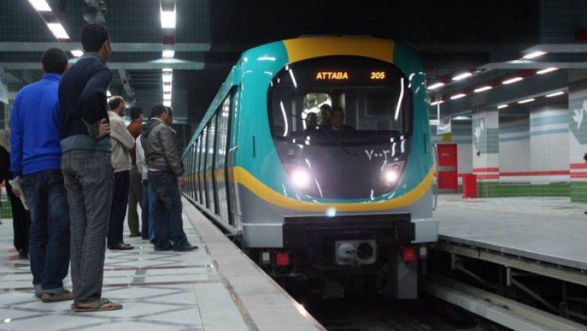 بسبب الموجة الحارة.. مترو الأنفاق يعلن تخفيض سرعة القطارت
