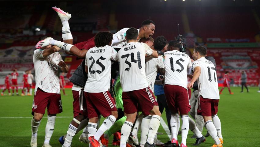 أرسنال يتأهل لربع نهائي كأس الرابطة على حساب ليفربول