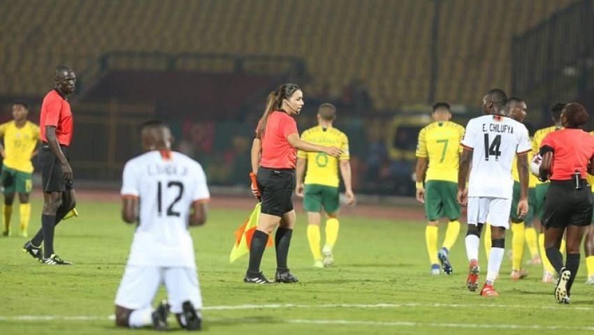 بالصور| جنوب أفريقيا يتعادل مع زامبيا بأمم أفريقيا تحت 23 عامًا