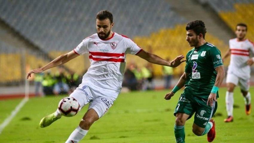 المصري يهدى قمة الدوري للأهلى ويتغلب على الزمالك بهدفين لهدف