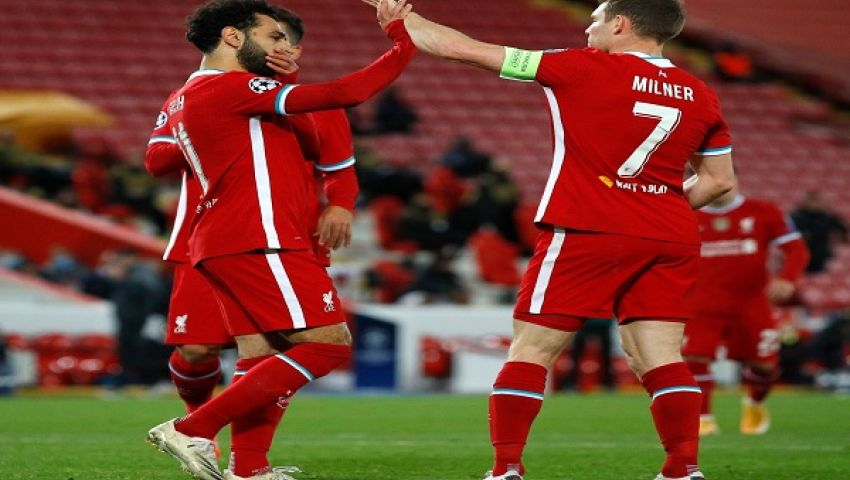 فيديو| ليفربول يتخطى ميتييلاند بصعوبة.. وصلاح يحقق رقمًا قياسيًا