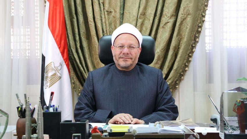 فيديو| المفتى يطالب المصريين بالالتفاف حول القيادة السياسية للقضاء على الإرهابِ
