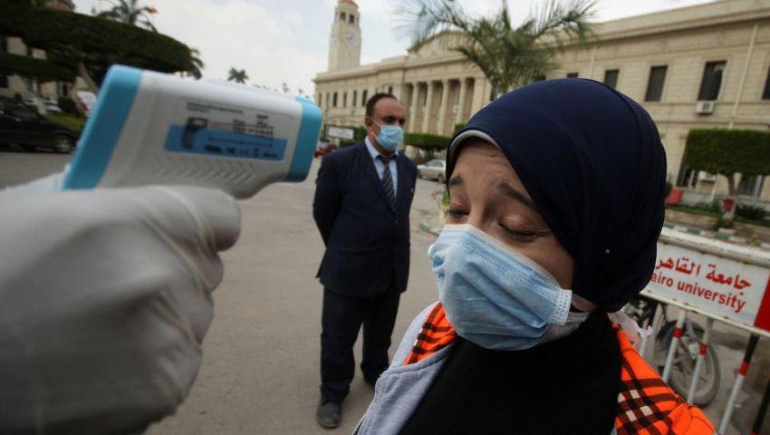 مصر تكسر حاجز الـ 6 آلاف إصابة بكورونا.. وإجمالي الوفيات 415