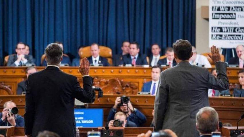 مستقبل الرئيس على المحك.. روايات مهمة للشهود في أول جلسة علنية لـ«عزل ترامب»
