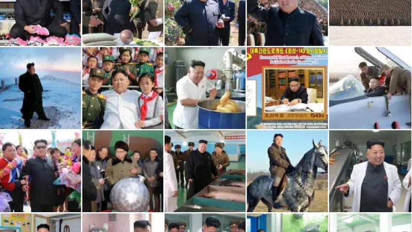 كيم جونغ أون في صور.. لقطات غريبة للزعيم الكوري