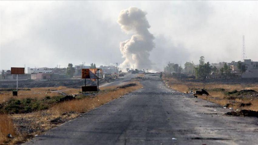 تنظيم داعش يفجر أكبر فنادق الموصل