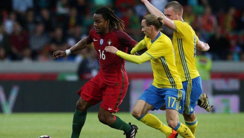 السويد تحرج البرتغال على أرضها وديا