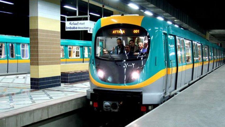 حقيقة غلق مترو الأنفاق غدًا وتفاصيل خروج قطار عن القضبان