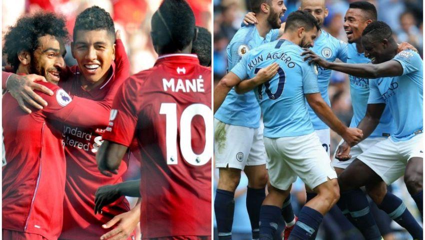 إنفوجراف| صراع «البريميرليج».. المباريات المتبقية أمام ليفربول ومانشسترسيتي
