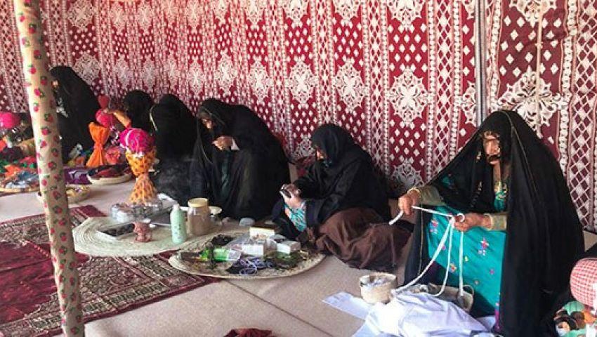 50 سيدة إماراتية يعرضن تراث الإمارات بمهرجان شرم الشيخ التراثي