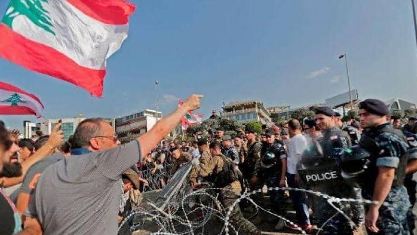 متظاهرو لبنان يحاولون منع انعقاد جلسة البرلمان.. كر وفر ومواجهات عنيفة
