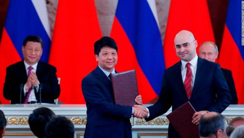 سي إن إن: روسيا تمنح قبلة الحياة لهواوي