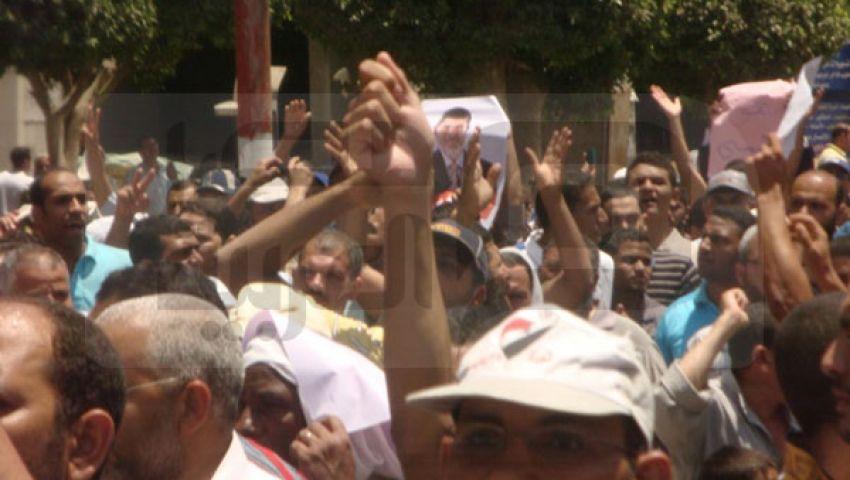 بني سويف.. مسيرة حاشدة تنديدًا بمذبحة  الجمهوري