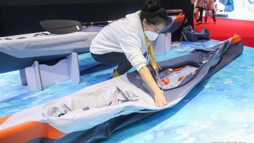 بالصور| اليوم الرابع لمعرض الصين الدولي الثالث للواردات.. تعرف على المنتجات العربية والمصرية