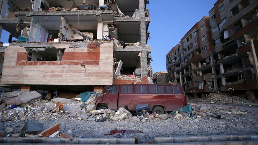 بقوة 5.9 ريختر.. ارتفاع ضحايا زلزال إيران إلى 6 قتلى و300 مصاب