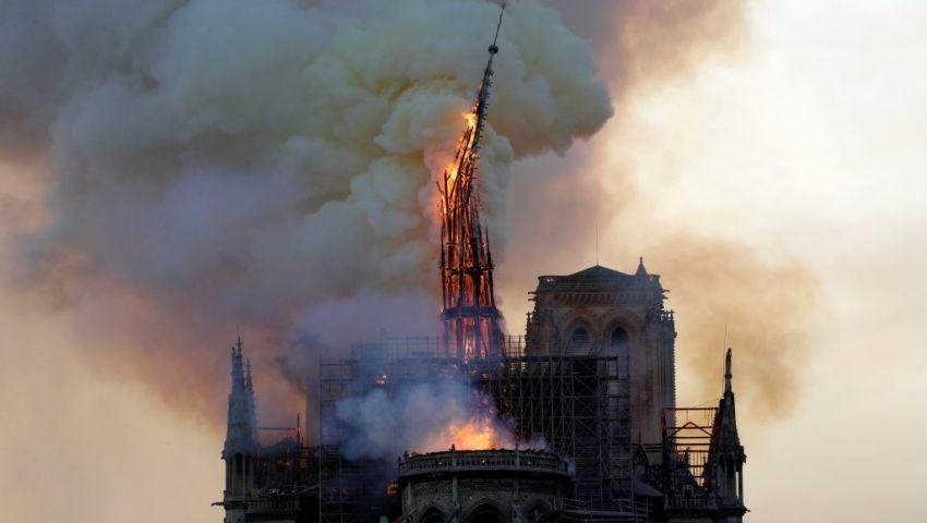 حريق كاتدرائية نوتردام من «المسافة صفر».. التحقيقات تكشف المستجدات
