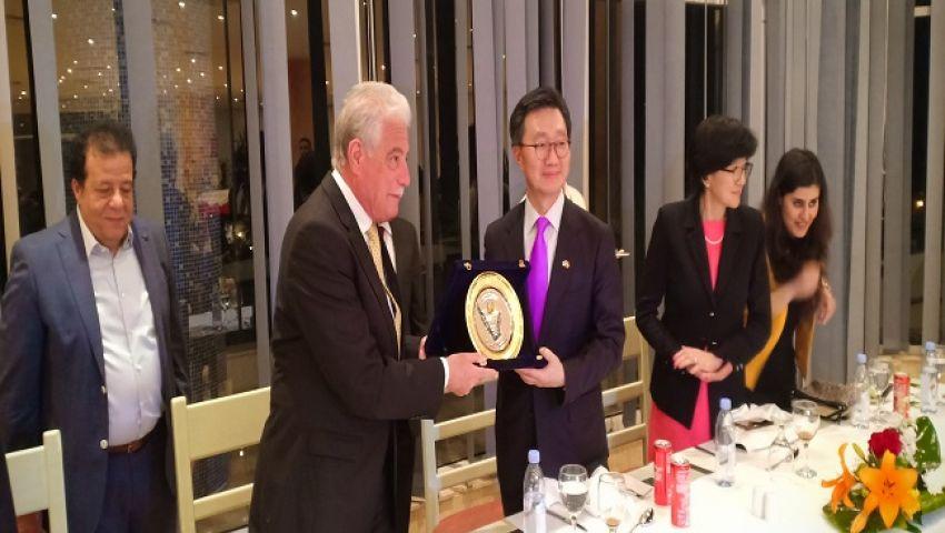 السفير الكوري بالقاهرة: 2 مليار دولار حجم التجارة البينية مع مصر