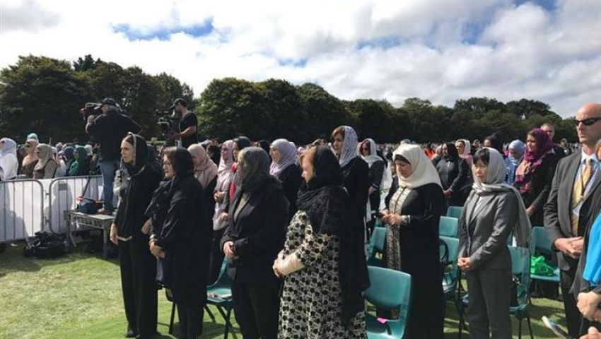بالصور| جنازة الضحايا المصريين فى هجوم نيوزيلندا