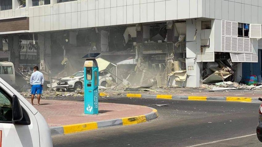 تزامنًا مع أول رحلة جوية من «إسرائيل».. انفجار يهز أبو ظبي