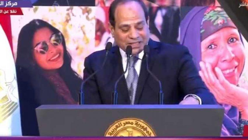 السيسي : مصر تسعى لتنسيق المواقف تجاه قضايا الساحة الإفريقية