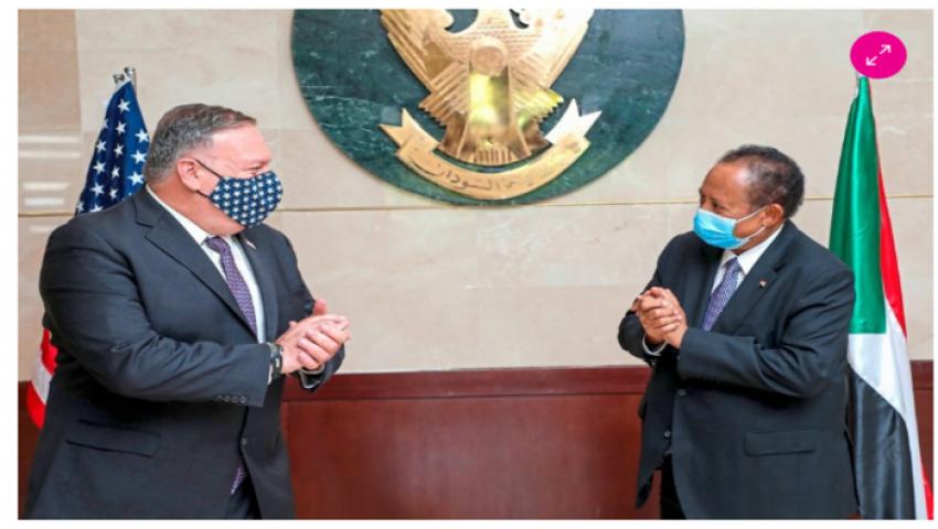 من أجل التطبيع.. ترامب يضع السكين على رقبة السودان