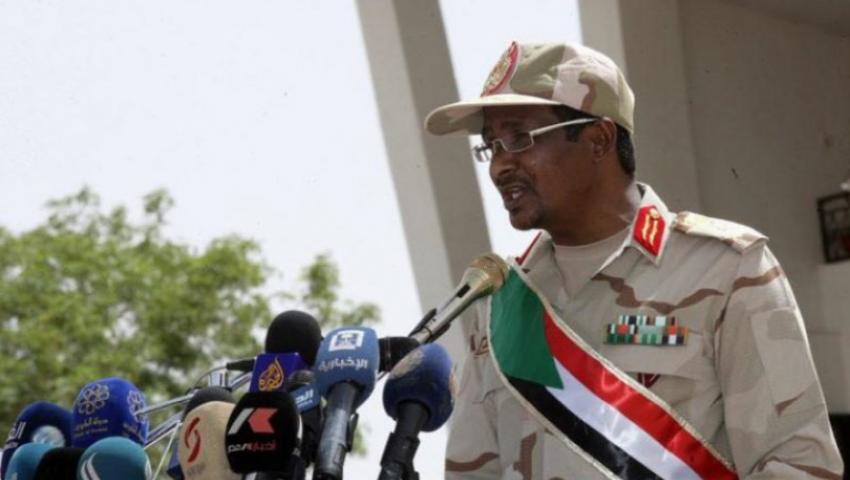 السودان.. حميدتي  يكشف عن مصير أموال المساعدات الخارجية من السعودية والإمارات