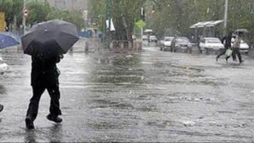 تصل لحد السيول.. تعرف على أماكن سقوط الأمطار الـ48 ساعة المقبلة