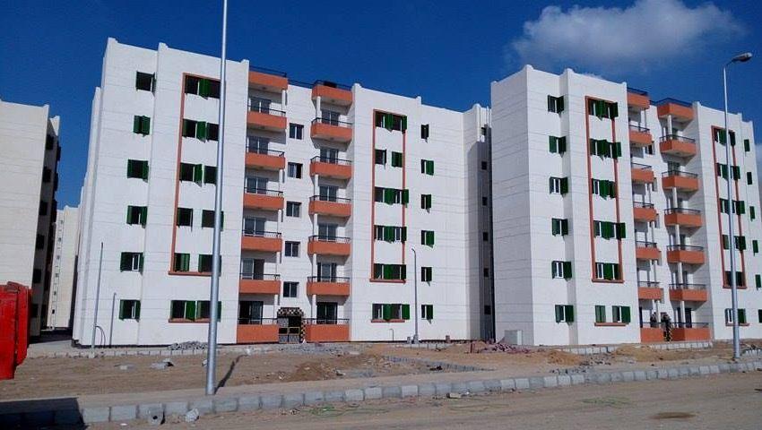 تنفيذ 6912 وحدة بالإسكان الاجتماعى في مدينة طيبة الجديدة