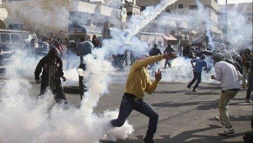 مواجهات بين فلسطينين وقوات الاحتلال وسط القدس