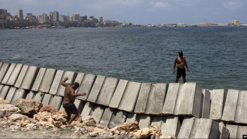 صوت أمريكا: ارتفاع سطح البحر يهدد الإسكندرية