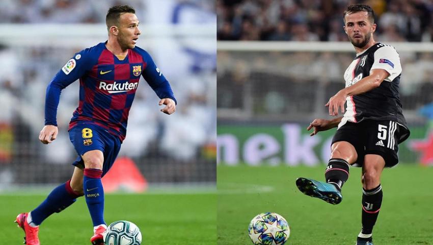 الصفقة تمت| برشلونة يضم ميراليم بيانيتش 4 سنوات.. وآرثر ميلو إلى يوفنتوس رسميًا