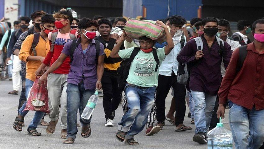 بالصور| العاطلون عن العمل في الهند.. أزمة أشرس من كورونا