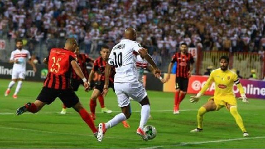 نتيجة مباراة الزمالك اليوم ضد اتحاد العاصمة في دوري أبطال أفريقيا