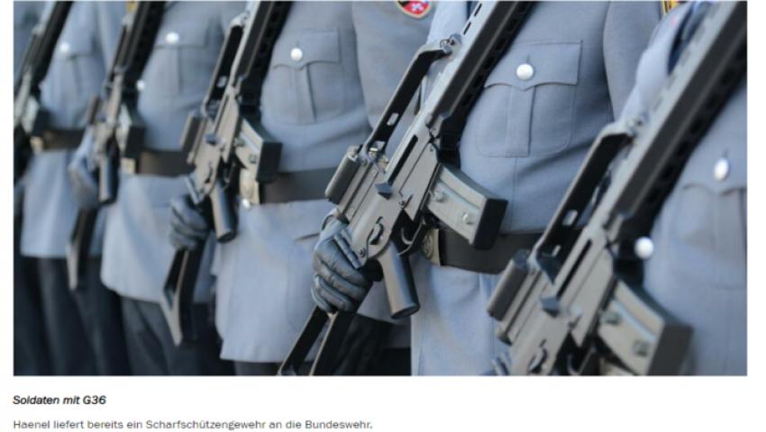 دير شبيجل: شركة إماراتية تصنع «بندقية فريدة» للجيش الألماني