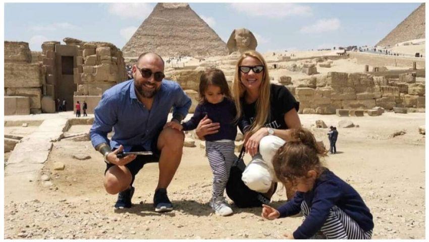 مجلة سويسرية تكشف كواليس زيارة الممثلة الشهيرة كريستا ريجوزي لمصر