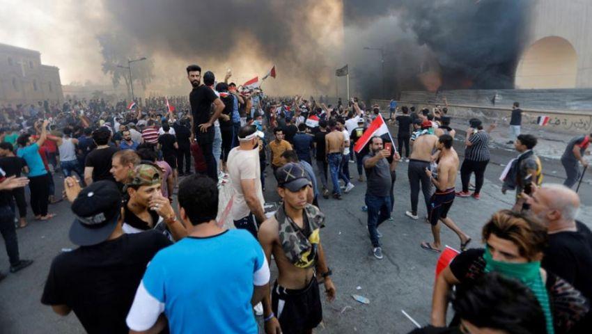 قناصة وحصار وحظر تجوال.. اعتصام العراق يدخل يومه الرابع على التوالي