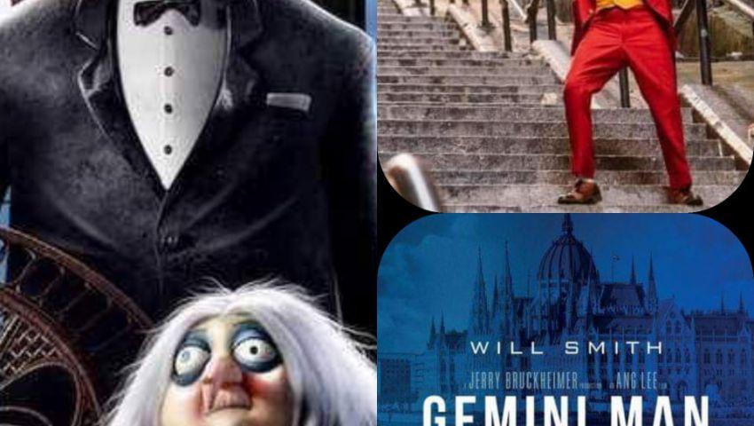 بالأرقام| «Joker» يستمر في الصدارة .. ويل سميث يحتل المركز الثالث
