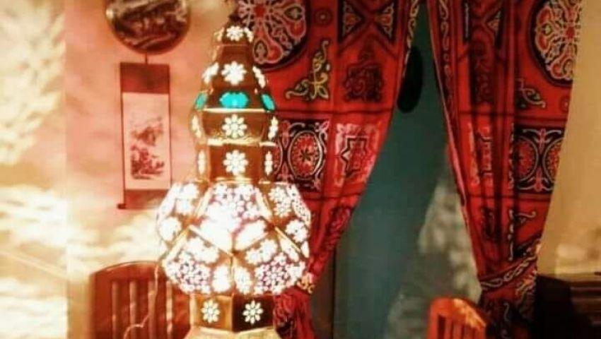 صور  بقماش خيامية..غيري ديكور منزلك في رمضان بـ 20 جنيه