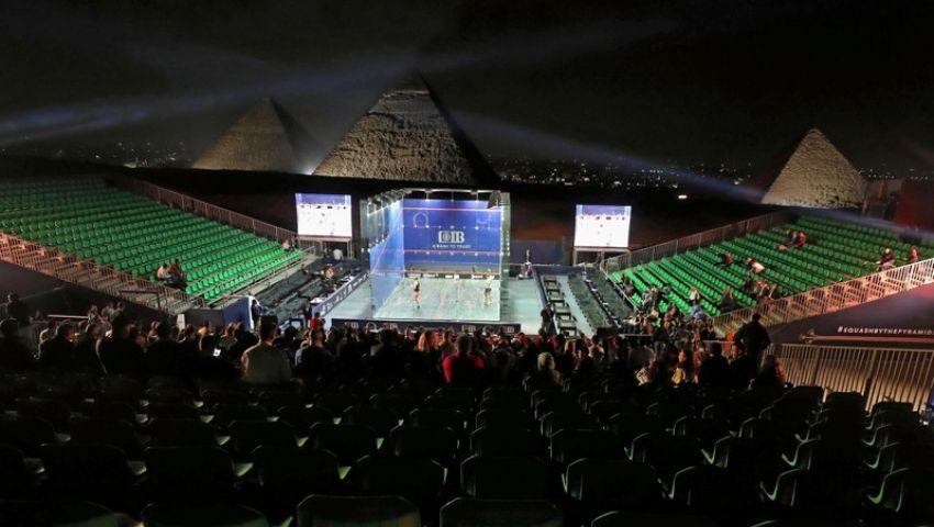 رويترز: سابقة فريدة في بطولة العالم للإسكواش بمصر