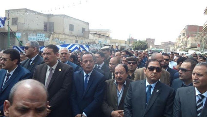بالصور  تشيع جنازة النقيب شادي العاصي مسقط رأسه بالمحلة