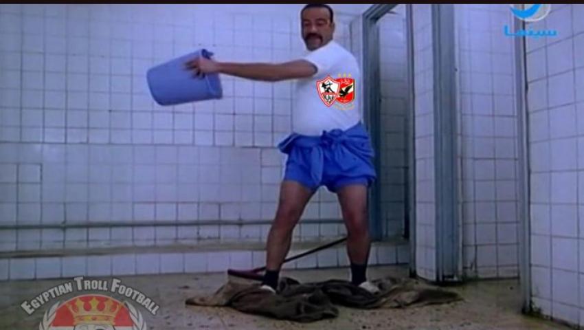 «الحمد لله محدش غرق».. حفلة على السوشيال ميديا بسبب ملعب مباراة القمة 117