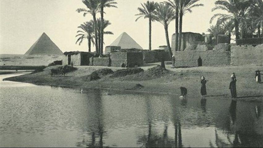 «مصر بعيون استرالية».. لوحات من 100 عام